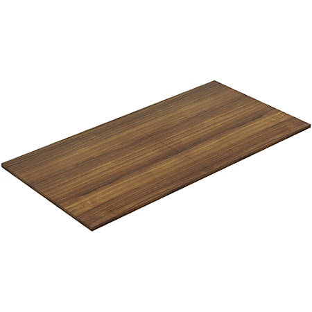 Lorell® Chateau Series Rectangular Conference Table Top, 8'W, Walnut