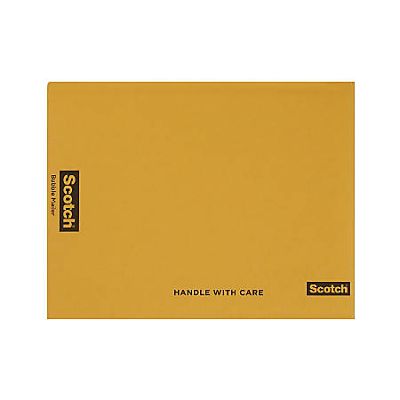 """Scotch® Bubble Mailer, 10 1/2"""" x 15"""", Size #5, Case Of 25"""