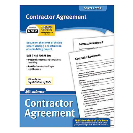Adams® Contractor Agreement