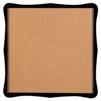 Quartet Home Organization Cork Bulletin Board 14 X 14 Brown Black