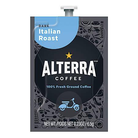 MARS DRINKS™ Flavia® Coffee ALTERRA® Italian Roast Freshpacks, 0.25 Oz, Box Of 100