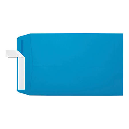 """LUX Open-End Envelopes With Peel & Press Closure, #6 1/2, 6"""" x 9"""", Pool, Pack Of 1,000"""