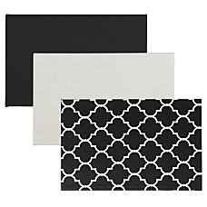 Quartet Home Organization Fabric Bulletin Board