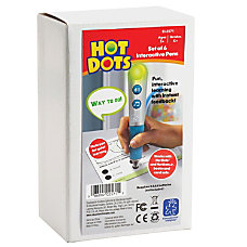 Hot Dots Talking Pens Pack ThemeSubject