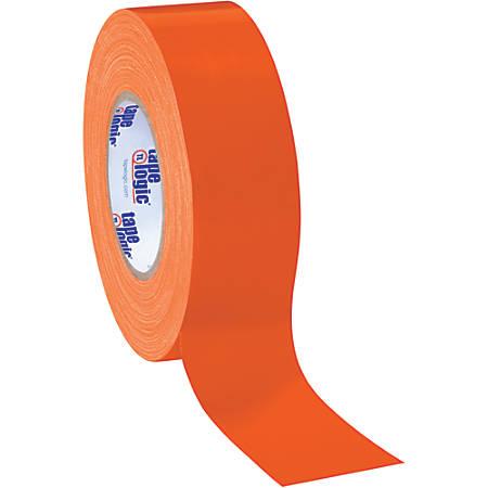 "Tape Logic® Color Duct Tape, 3"" Core, 2"" x 180', Orange, Case Of 24"