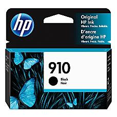 HP 910 Black Ink Cartridge