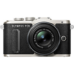"""Olympus PEN E-PL8 16.1 Megapixel Mirrorless Camera with Lens - 14 mm - 42 mm - Black - 3"""" Touchscreen LCD - 3x Optical Zoom - Optical (IS) - 4608 x 3456 Image - 1920 x 1080 Video - HD Movie Mode - Wireless LAN"""