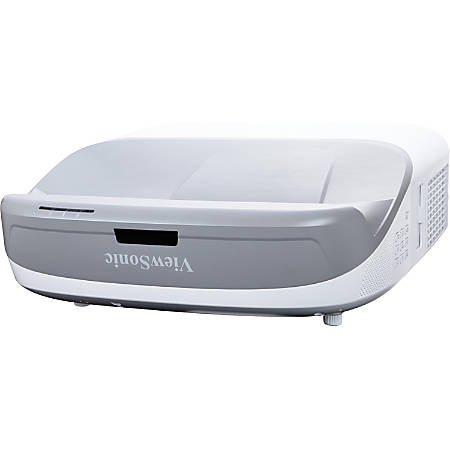 Viewsonic 3D Ultra Short Throw DLP Projector - 1024 x 768 - Front - 3000 Hour Normal Mode - 6000 Hour Economy Mode - XGA - 1,000:1 - 3300 lm - HDMI - USB