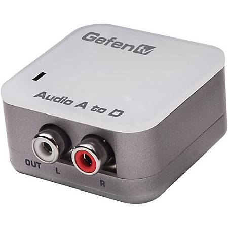 Gefen GTV-AAUD-2-DIGAUD Analog to Digital Audio Adapter