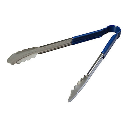 "Dura-Kool™ Tongs, 12"", Blue, Pack Of 12"