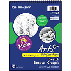 Pacon Medium Weight Sketch Book 9