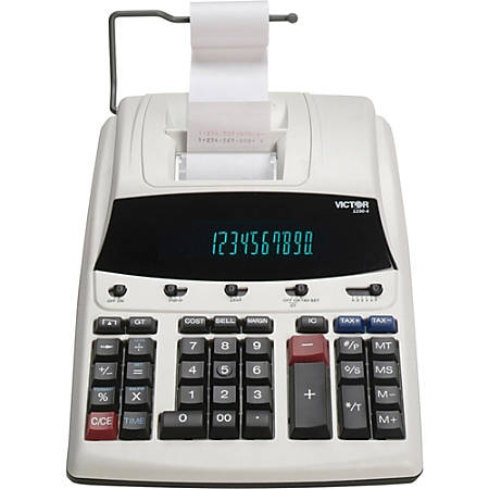 Victor® 1230-4 12-Digit Commercial Printing Calculator