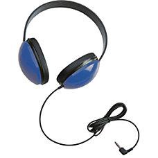 Califone Childrens Stereo Blue Headphone Lightweight