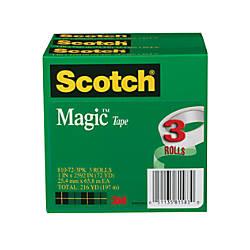 Scotch Magic 810 Invisible Tape 1