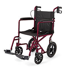 Medline Aluminum Transport Chair 12 Wheels