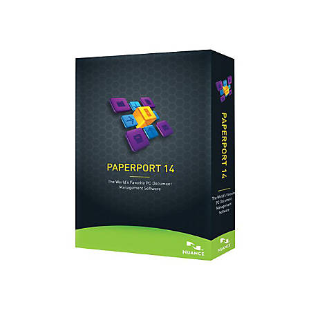 Kofax PaperPort Standard - (v. 14) - box pack - 1 user - DVD - Win - English, French - United States