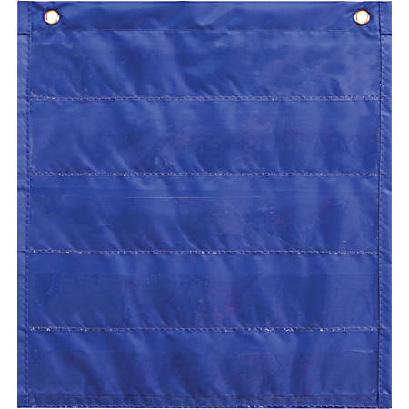 "Carson-Dellosa Common Core Daily Standards Pocket Chart, 13"" x 14"", Blue"