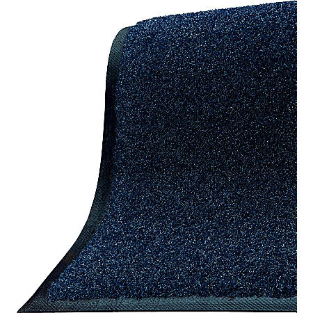 "The Andersen Company Brush Hog Floor Mat, 48"" x 96"", Navy Brush"