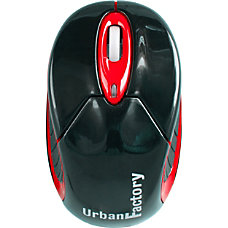 Urban Factory Wireless Bluetooth Mouse Red