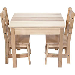 Melissa Doug Wooden Table With Chairs