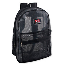 Trailmaker Mesh Backpacks Black Set Of