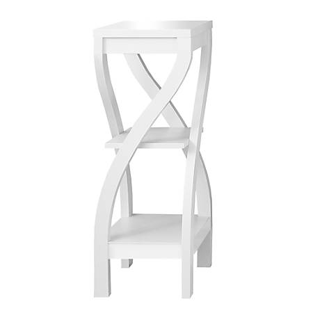 """Monarch Specialties Katherine Accent Table, 32""""H x 11-1/2""""W x 11-1/2""""D, White"""