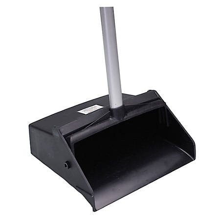 Long Handle Dustpan, Black (AbilityOne 7290-01-460-6663)
