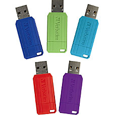 Verbatim 8GB PinStripe USB Flash Drive