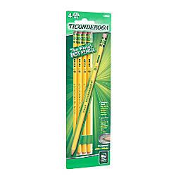 Ticonderoga Woodcase Pencils The Original Pack