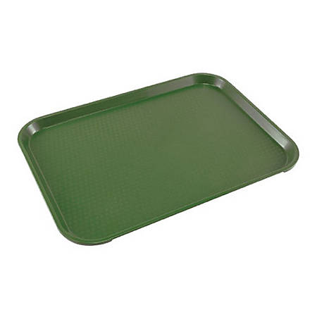 "Cambro Fast Food Tray, 12"" x 16"", Green"