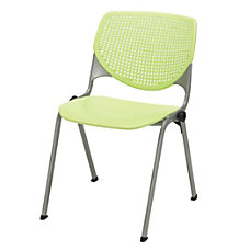 KFI Studios KOOL Stacking Chair Lime