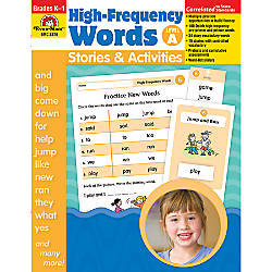 Evan Moor High Frequency Words Stories