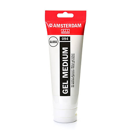 Amsterdam Acrylic Mediums, Gel, Glossy, 250 mL, Pack Of 2