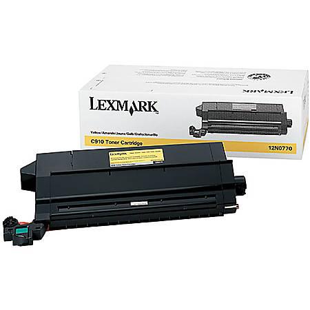 Lexmark™ 12N0770 Yellow Toner Cartridge