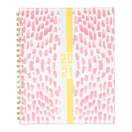 """Katie Kime for Cambridge® Watermarks Academic Weekly/Monthly Planner, 8-1/2"""" x 11"""", July 2020 to June 2021, KK105-905A"""