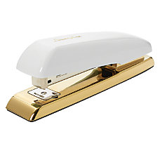 Swingline Durable Desk Stapler WhiteGold