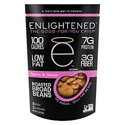 Enlightened Broad Bean Crisps Garlic 35