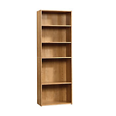 Sauder Beginnings Bookcase 5 Shelf Highland
