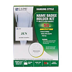C Line 92443 Specialty Name Badge