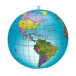 Learning Resources Inflatable Light Up Globe