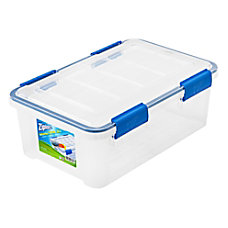 Ziploc Weathertight Storage Box 16 Quart