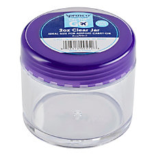 Sprayco Empty Cream Jar 2 Oz