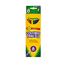 Crayola Color Pencils Assorted Colors Pack