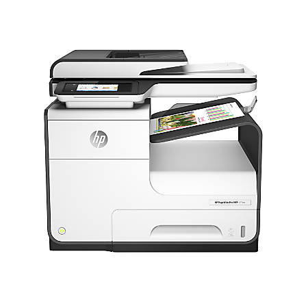 HP PageWide Pro 477dn All-in-One Color Business Printer With 120 Day Money Back Guarantee, D3Q19A