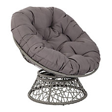 Office Star Papasan Chairs GrayGray