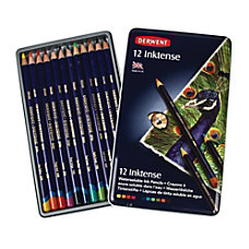 Derwent Inktense Pencil Set Assorted Colors