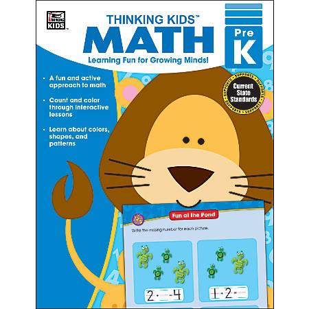 Carson-Dellosa Thinking Kids'® Math Resource Book, Grade Pre-K