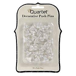 Quartet Home Organization Decorative Push Pins