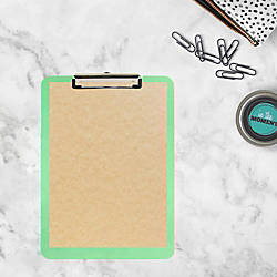 JAM Paper See Through Clipboard 9
