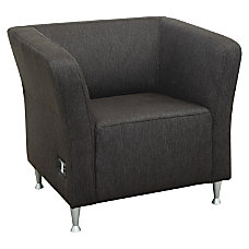 Lorell Fuze Modular Lounge Chair Upholstered